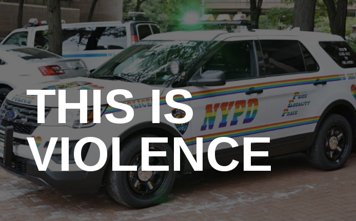 Letter to Heritage of Pride Parade Demanding NYPD Not Participate